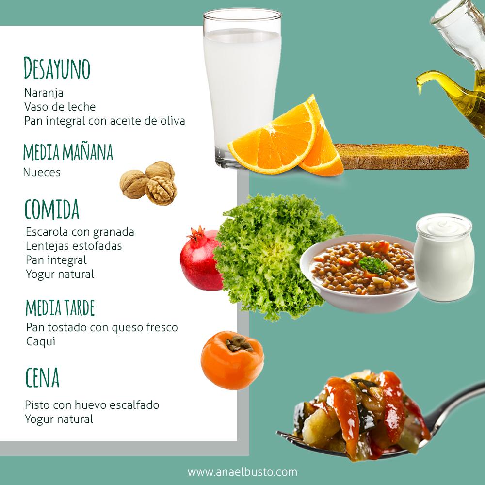 Come sano, menú mayores de 65